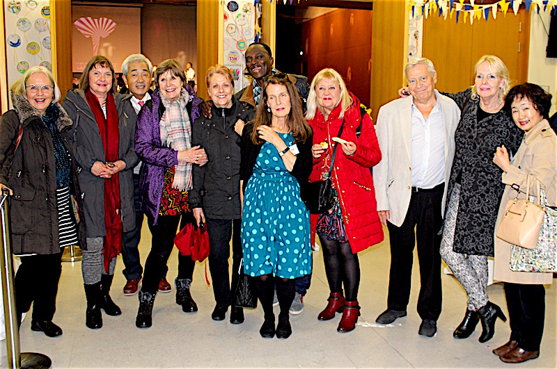 Class of '67, Alumni at the 60th Anniversary of International School of Hamburg