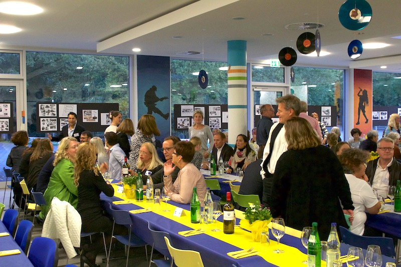 International School of Hamburg Alumni at the 60th anniversary Re-union