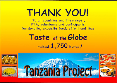 Tanzania Project says thank you for Taste of the Globe!