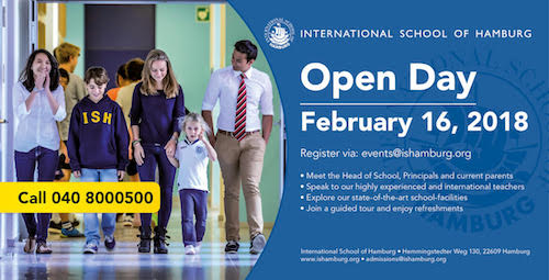 Welcome to ISH Open Day today!