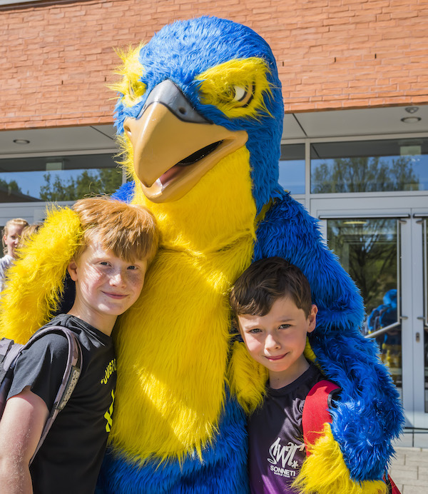 International School of Hamburg Mascot, Falco