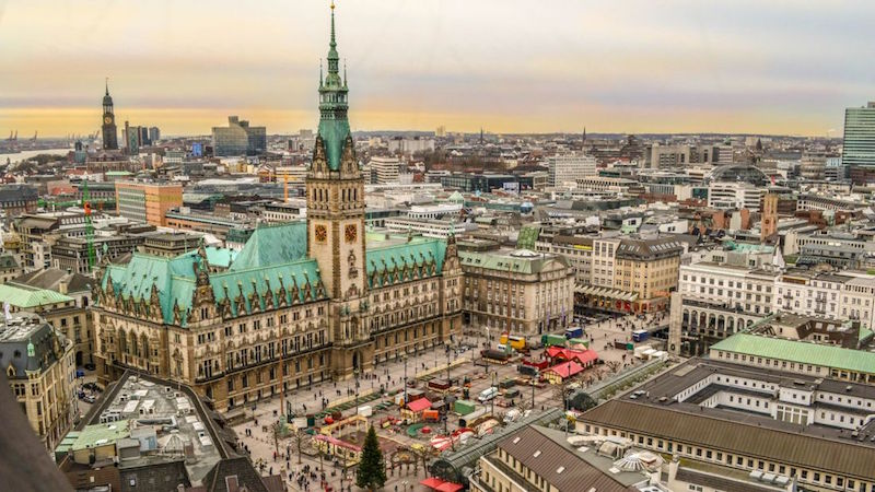 Hamburg City, Germany by CNN